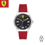 (100% Original) Scuderia Ferrari Kids' Unisex 0840019 Pitlane Watch (Red)