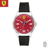 (100% Original) Scuderia Ferrari Kids' Unisex 0840021 Pitlane Watch (Black)