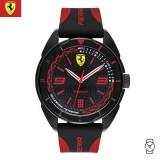 (100% Original) Scuderia Ferrari Men's 0830515 Forza Watch (Black & Red)