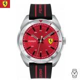 (100% Original) Scuderia Ferrari Men's 0830543 Forza Watch (Black & Red)