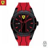 (100% Original) Scuderia Ferrari Men's 0830539 Redrev Watch (Red & Black)