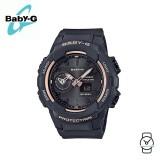(OFFICIAL MALAYSIA WARRANTY) Casio Baby-G BGA-230SA-1A Standard Analog-Digital Resin Women's Watch (Black)