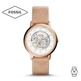 Fossil Women's ME3152 Vintage Muse Automatic Sand Leather Watch (Light Brown)