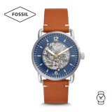 Fossil Men's ME3159 Commuter Automatic Brown Luggage Leather Watch (Brown)