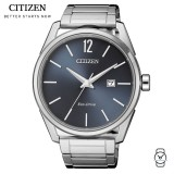 (100% Original) Citizen BM7411-83H Eco Drive Gent's Stainless Steel Watch