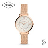 Fossil Women ES4352 Jacqueline Three-Hand Stainless Steel Watch (Rose Gold)
