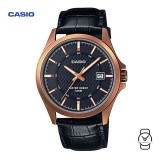 Casio Unisex MTP-1376RL-1AVDF Classic Analogue Leather Watch (Free Shipping)