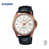 Casio Unisex MTP-1376RL-7AVDF Classic Analogue Leather Watch (Free Shipping)