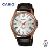 Casio Unisex MTP-1376RL-7BVDF Classic Analogue Leather Watch (Free Shipping)