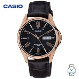 Casio Men's MTP-1384L-1AVDF Enticer Series Leather Watch (Free Shipping)