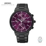 Seiko Ladies SNDV25P1 Chronograph Stainless Steel Watch
