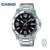 Casio Men's MTP-VD01D-1BVUDF Analogue Stainless Steel Watch (Free Shipping)