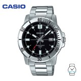Casio Men's MTP-VD01D-1EVUDF Analogue Stainless Steel Watch (Free Shipping)