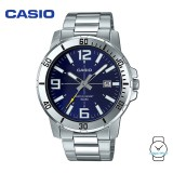 Casio Men's MTP-VD01D-2BVUDF Analogue Stainless Steel Watch (Free Shipping)