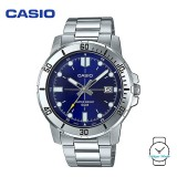 Casio Men's MTP-VD01D-2EVUDF Analogue Stainless Steel Watch (Free Shipping)