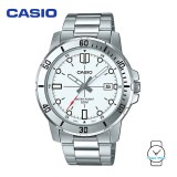 Casio Men's MTP-VD01D-7EVUDF Analogue Stainless Steel Watch (Free Shipping)