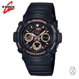 (OFFICIAL MALAYSIA WARRANTY) Casio G-SHOCK AW-591GBX-1A4 Special Colour Model Men's Resin Watch (Black)