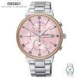Seiko Ladies SNDV30P1 Chronograph Stainless Steel Watch