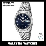 Seiko 5 SNK357K Japan Made Automatic 37MM Blue Dial Silver Stainless Steel Men's Watch
