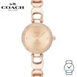 (100% ORIGINAL) Coach Ladies' 14503172 Stainless Steel Watch (Rose Gold)