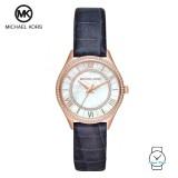 (100% Original) MICHAEL KORS Ladies MK2757 Lauryn Leather Watch