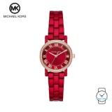 (100% Original) MICHAEL KORS Ladies MK3896 Norie Three-Hand Stainless Steel Watch