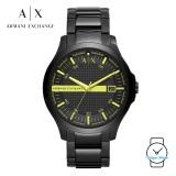 (100% Original) Armani Exchange Men's AX2407 Stainless Steel Watch (Black)
