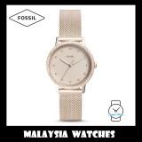 Fossil Women ES4364 Neely Three-Hand Stainless Steel Watch (Pastel Pink)