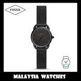 (OFFICIAL WARRANTY) Fossil Women ES4489 Tailor Three-Hand Stainless Steel Watch (Black)