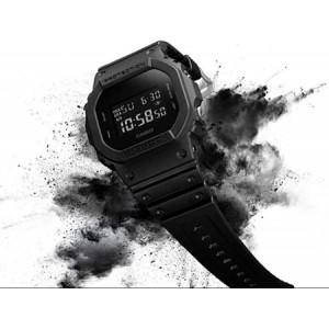 (OFFICIAL MALAYSIA WARRANTY) Casio G-SHOCK DW-5600BB-1 SPECIAL COLOUR MODEL Digital Men's Resin Watch (Black)