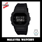 (OFFICIAL MALAYSIA WARRANTY) Casio G-SHOCK DW-5600BB-1 SPECIAL COLOUR MODEL Digital Men's Resin Watch (Black)