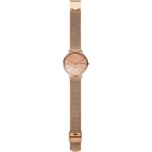 (100% Original) Skagen Ladies SKW2732 Stainless Steel Mesh Watch (Rose Gold)