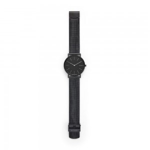 (100% Original) Skagen Men's SKW6484 Signature Slim Titanum Stainless Steel Mesh Watch (Black)