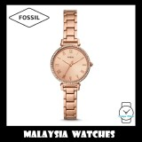 Fossil Women ES4447 Kinsey Three-Hand Rose Gold-Tone Stainless Steel Watch