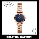 Fossil Women ES4522 Carlie Mini Three-Hand Rose Gold-Tone Stainless Steel Watch