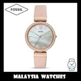 Fossil Women ES4537 Madeline Three-Hand Blush Leather Watch