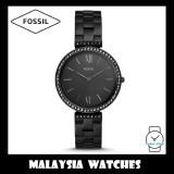 Fossil Women ES4540 Madeline Three-Hand Black Stainless Steel Watch
