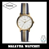 Fossil Women ES4549 Neely Three-Hand Antique Gold-Tone Leather Watch