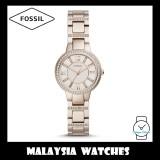 Fossil Women ES4482 Virginia Three-Hand Pastel Pink Stainless Steel Watch