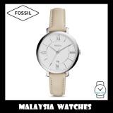 Fossil Women ES3793 Jacqueline Three-Hand Beige Leather Watch