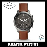Fossil Men's FS5512 Neutra Chronograph Amber Leather Watch