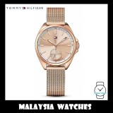 (100% Original) Tommy Hilfiger Women's 1781756 Rose Gold Stainless Steel Watch (Rose Gold)