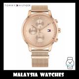 (100% Original) Tommy Hilfiger Women's 1781907 Blake Rose Gold Stainless Steel Watch