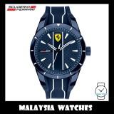 (100% Original) Scuderia Ferrari Men's 0830541 Redrev Watch (Blue & White)