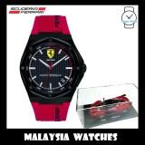 (100% Original) Scuderia Ferrari Men's 0870030 Special Edition Aspire Watch & Cast Car Gift Set