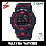 (OFFICIAL MALAYSIA WARRANTY) Casio G-SHOCK GBD-800-1DR G-Squad Bluetooth Men's Step Tracker Resin Watch GBD-800-1