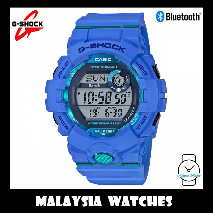 2e970a1af (OFFICIAL MALAYSIA WARRANTY) Casio G-SHOCK GBD-800-2DR G-Squad Bluetooth  Men's Step Tracker Resin Watch GBD-800-2