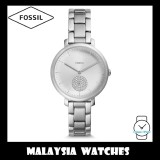 (OFFICIAL WARRANTY) Fossil Women ES4437 Jacqueline Three-Hand Stainless Steel Watch