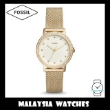 (OFFICIAL WARRANTY) Fossil Women ES4366 Neely Three-Hand Gold-Tone Stainless Steel Watch
