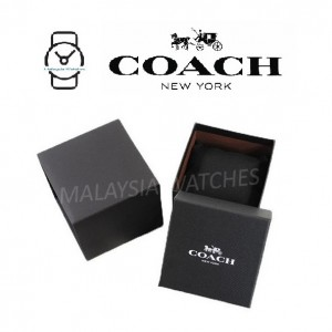 (100% ORIGINAL) Coach Ladies' 14503257 Perry Collection Chalk Dial Pink Leather Strap Watch